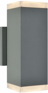 Avenue Lighting AV9894-SLV Avenue Outdoor Modern Silver LED Exterior 10  Wall Light Sconce