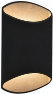 Avenue Lighting AV9897-BLK Avenue Outdoor Contemporary Black LED Outdoor 12  Sconce Lighting