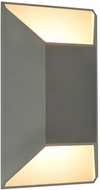 Avenue Lighting AV9900-SLV Avenue Outdoor Modern Silver LED Exterior 12  Wall Lighting Sconce