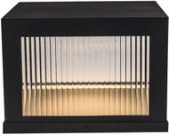Avenue Lighting AV9905-BLK Avenue Outdoor Contemporary Black LED Exterior 14  Pier Mount