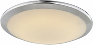 Avenue Lighting HF1102-CH Cermack St. Modern Polished Chrome LED 15  Ceiling Lighting Fixture