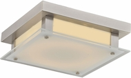 Avenue Lighting HF1104-BN Cermack St. Contemporary Brushed Nickel LED 12  Flush Mount Lighting