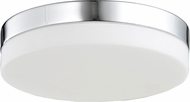 Avenue Lighting HF1105-CH Cermack St. Modern Polished Chrome LED 6  Flush Mount Lighting Fixture