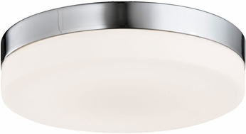 Avenue Lighting HF1106-BN Cermack St. Contemporary Brushed Nickel LED 9  Flush Ceiling Light Fixture