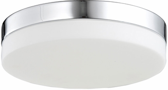 Avenue Lighting HF1106-CH Cermack St. Modern Polished Chrome LED 9  Flush Mount Ceiling Light Fixture