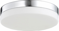 Avenue Lighting HF1107-CH Cermack St. Modern Polished Chrome LED 11  Overhead Light Fixture