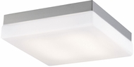Avenue Lighting HF1108-BN Cermack St. Contemporary Brushed Nickel LED 7.5  Overhead Lighting Fixture
