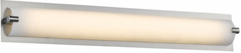 Avenue Lighting HF1114-BN Cermack St. Contemporary Brushed Nickel LED 15.5  Vanity Light