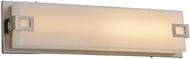 Avenue Lighting HF1117-BN Cermack St. Contemporary Brushed Nickel LED 15.5  Bathroom Sconce