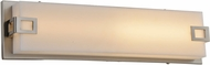 Avenue Lighting HF1119-BN Cermack St. Contemporary Brushed Nickel LED 37.5  Bathroom Vanity Light Fixture