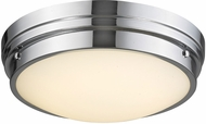 Avenue Lighting HF1160-CH Cermack St. Modern Polished Chrome LED 11.25  Home Ceiling Lighting