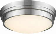 Avenue Lighting HF1161-BN Cermack St. Contemporary Brushed Nickel LED 17  Overhead Light Fixture