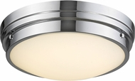 Avenue Lighting HF1161-CH Cermack St. Modern Polished Chrome LED 17  Overhead Lighting Fixture