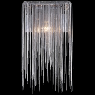 Avenue Lighting HF1200-CH Fountain Ave. Contemporary Chrome Finish 8 Wide Lighting Sconce