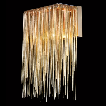 Avenue Lighting HF1200-GLD Fountain Ave Contemporary Gold Wall Sconce Lighting