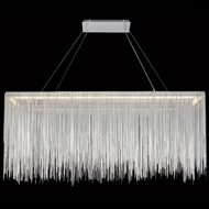 Avenue Lighting HF1201-CH Fountain Ave Modern Chrome LED Island Lighting