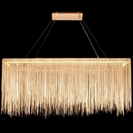 Avenue Lighting HF1201-GLD Fountain Ave Contemporary Gold LED Kitchen Island Lighting