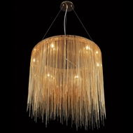 Avenue Lighting HF1202-GLD Fountain Ave Modern Gold LED Pendant Lighting