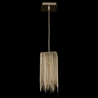 Avenue Lighting HF1204-GLD Fountain Ave Contemporary Gold Halogen Mini Pendant Lamp