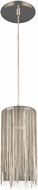 Avenue Lighting HF1205-CH Fountain Ave Modern Chrome Halogen Mini Hanging Lamp