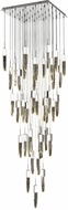 Avenue Lighting HF1903-41-AP-CH Aspen Contemporary Chrome Halogen Multi Hanging Light Fixture