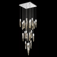 Avenue Lighting HF1904-25-AP-CH Aspen Contemporary Chrome Halogen Multi Lighting Pendant