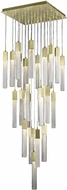 Avenue Lighting HF1904-25-BOA-BB Boa Brushed Brass Halogen Multi Hanging Lamp