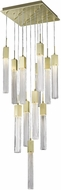 Avenue Lighting HF1905-13-BOA-BB Boa Brushed Brass Halogen Multi Drop Ceiling Lighting
