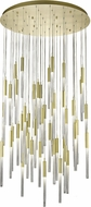Avenue Lighting HF2051-BOA-BB Boa Modern Brushed Brass Halogen Multi Drop Ceiling Lighting