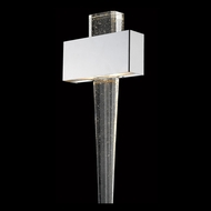 Avenue Lighting HF3006-PN Glacier Avenue Contemporary Polished Nickel LED Wall Light Sconce