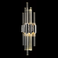 Avenue Lighting HF3011-PN Glacier Avenue Contemporary Polished Nickel LED Wall Sconce