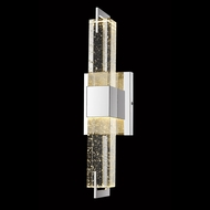 Avenue Lighting HF3012-PN Glacier Avenue Modern Polished Nickel LED Wall Lamp