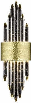 Avenue Lighting HF3017-HBB Aspen Contemporary Dark Bronze LED Lamp Sconce