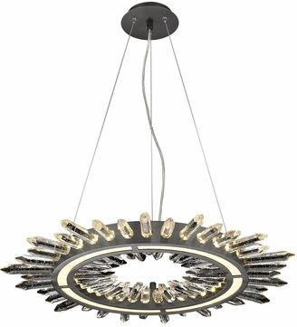 Avenue Lighting HF3034-DBZ Aspen Dark Bronze LED 34.25  Drop Ceiling Lighting