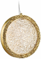 Avenue Lighting HF5014-PB Bottega Contemporary Polished Brass LED Mini Pendant Lighting