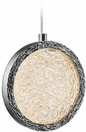 Avenue Lighting HF5014-PN Bottega Modern Polished Nickel LED Mini Pendant Light