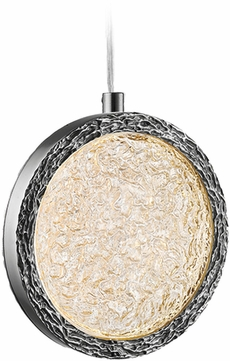 Avenue Lighting HF5020-PN Bottega Modern Polished Nickel LED Pendant Lighting Fixture