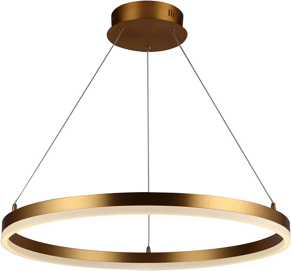 Avenue Lighting Hf5027 Gl Circa Modern Gold Led 23 6 Drop Ceiling Light Fixture