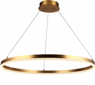 Avenue Lighting HF5028-GL Circa Modern Gold LED 31.3  Pendant Lighting