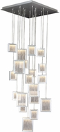 Avenue Lighting HF6011-BA Brentwood Contemporary Brushed Aluminum LED Multi Pendant Hanging Light