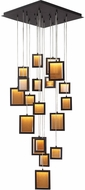 Avenue Lighting HF6011-DBZ Brentwood Modern Dark Bronze LED Multi Hanging Light Fixture