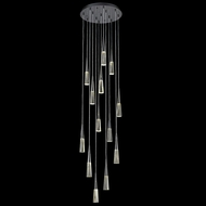 Avenue Lighting HF7713-GM Encino Contemporary Gun Metal LED Multi Pendant Hanging Light