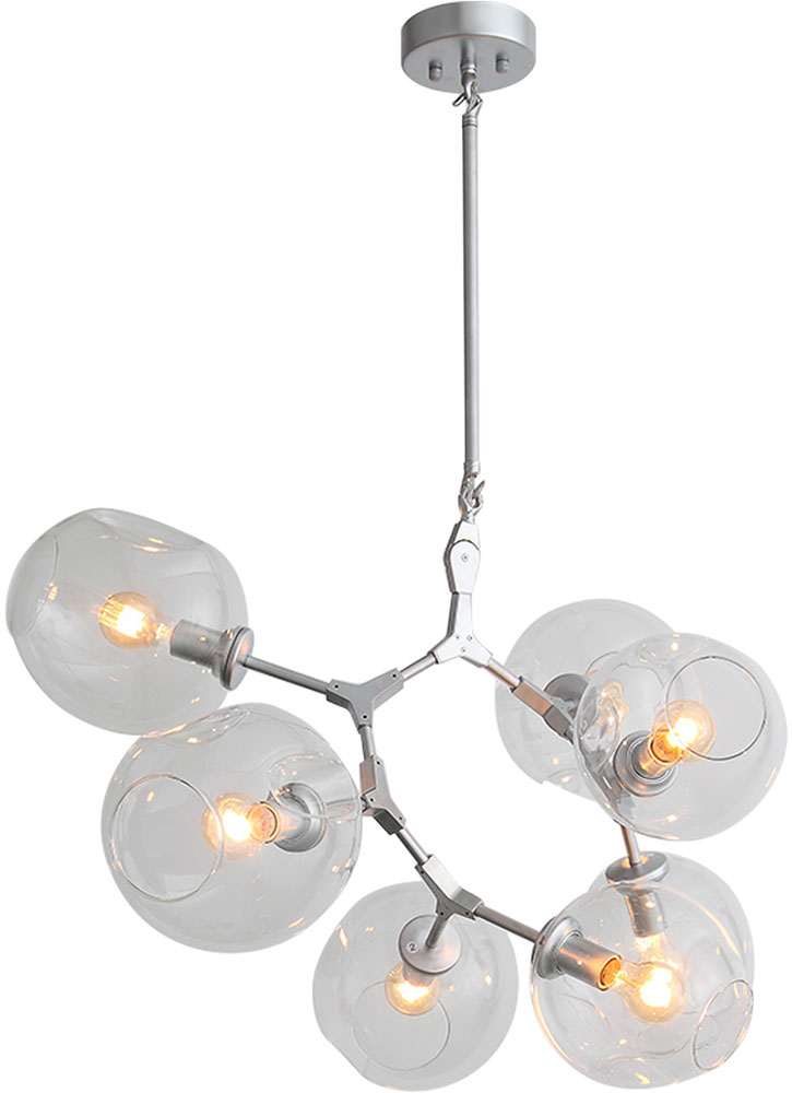 huge selection of a40f2 552aa Avenue Lighting HF8070-CH Fairfax Modern Chrome Chandelier Light