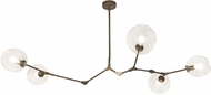 Avenue Lighting HF8085-DBZ Fairfax Modern Dark Bronze Island Lighting