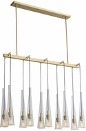 Avenue Lighting HF8133-BB Abbey Park Contemporary Brushed Brass Multi Hanging Lamp