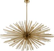 Avenue Lighting HF8200-AB Palisades Ave. Contemporary Antique Brass Pendant Lamp