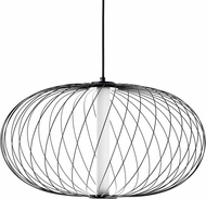 Avenue Lighting HF8212-BK Delano Contemporary Black LED Pendant Lighting Fixture