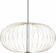 Avenue Lighting HF8212-GL Delano Modern Gold LED Hanging Pendant Lighting