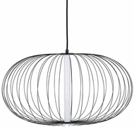 Avenue Lighting HF8213-BK Delano Modern Black LED Pendant Light