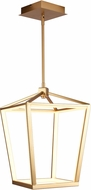 Avenue Lighting HF9400-GLD Park Ave. Contemporary Gold LED 13  Foyer Lighting